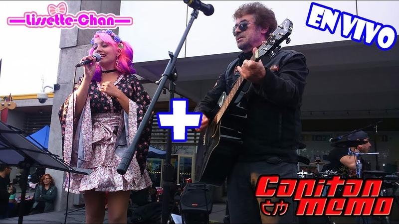 Lissette Chan Capitan Memo Candy Candy OP y ED EN VIVO Comic Fest Chile