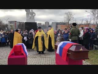 В городе Сортавала прошло захоронение останков героев Карельского фронта
