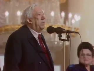 Юрий Никулин. Выступление перед ветеранами ВОВ, 1994 г