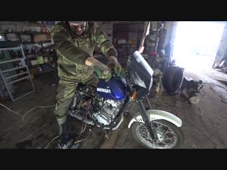 Милицейский мотоцикл РОБОКОП - ремонт!!!