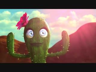 Добрый короткометражный мультик про кактусы Пустынный HD