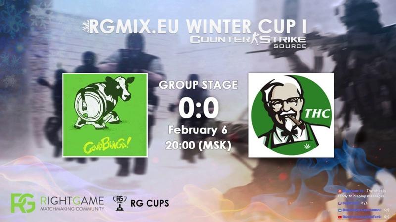 RGMIX.eu Winter Cup 1 [I love THC vs COWABUNGA] Group А