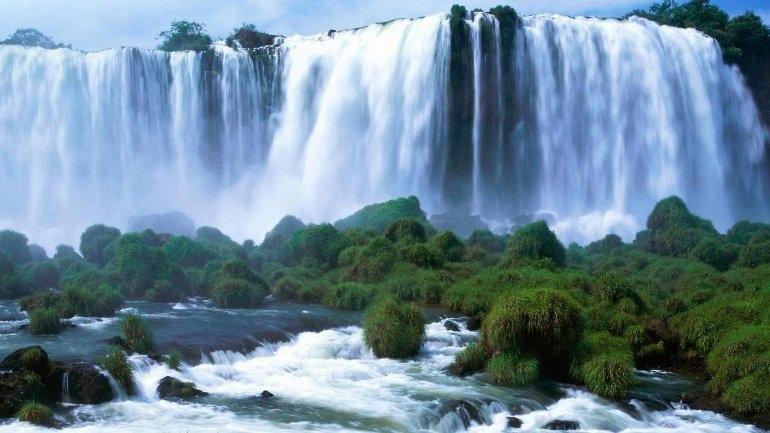 Мраморный водопад Марморе, изображение №1