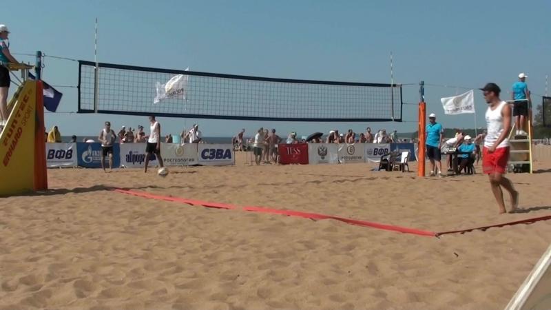 Beach volley Russia Solnechnoe 2018 M 05 Goncharov-Chirkin and Bogatov-Rakusov