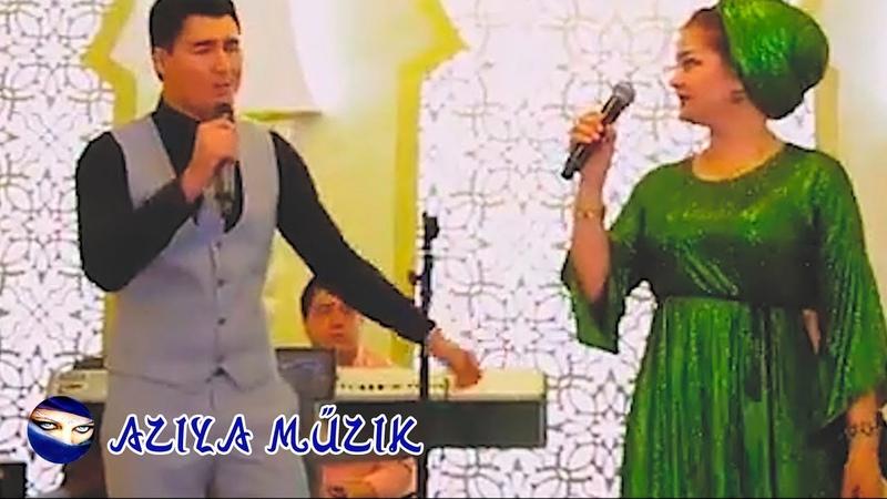 Bahar Hojaýewa ft Yhlas Hojagulyýew Şazadam Türkmen Toý 2018