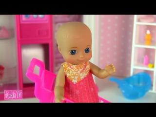 iKuklaTV  Игры в Kуклы со Слоником  В ДЕТСКИИ МИР ЗА ПОЛЗУНКАМИ! Мультик #Барби Беременная Мама Куклы для девочек