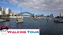 Walking Tour from Quibaree Park to Milsons Point by Luna Park Sydney Australia Sun Wukong Oppa