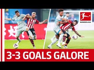 Goalfest in china fc schalke 04 vs. southampton fc all goals highlights