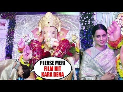 'Kangana Ranaut' Take Blessings Of 'Andheri Cha Raja' Before 'Manikarnika' Release смотреть онлайн без регистрации