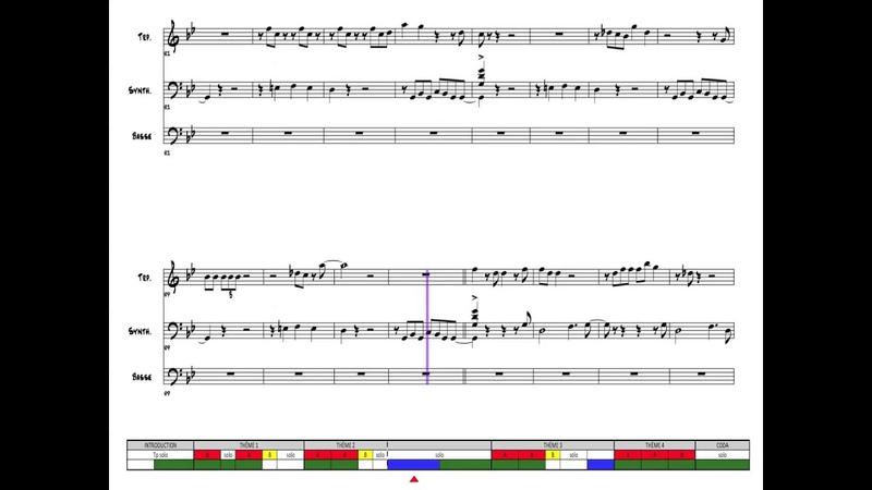 TUTU - Miles Davis - Suivi de partition
