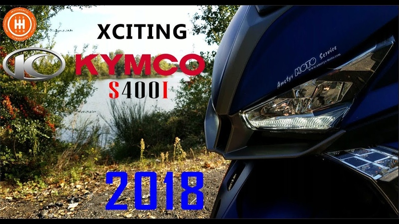 Kymco s400i xciting 2018 : L'anti Xmax400?