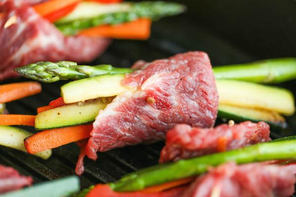 Азиатские рулетики из говядины с овощами, изображение №3