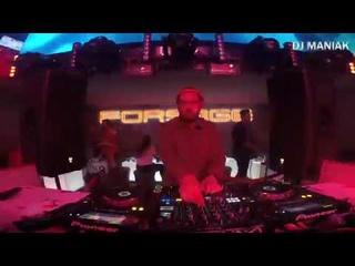 Dj maniak and Mc Rybik - forsage club live mix 2019