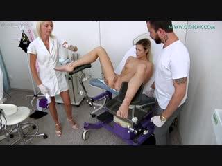 Gyno-X Ria Sunn [Medical Fetish, Gyno Exam, Teen, Anal Checkup, Vaginal & Anal Enema, Tiny Tits, Beaty, Masturbation]