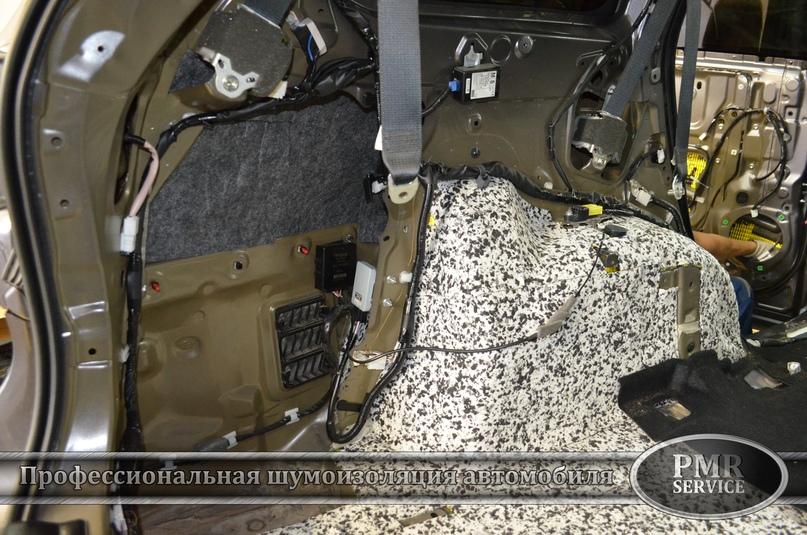 Шумоизоляция Toyota Highlander, изображение №9