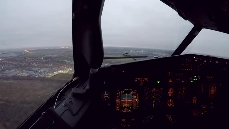 посадка в Пулково, Boeing 737NG