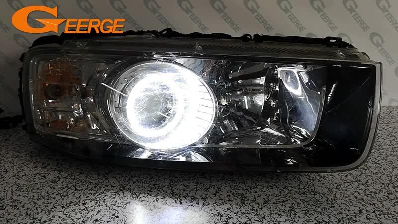 For Chevrolet Captiva 2012 2013 2014 2015 2016 smd led Angel Eyes kit Day Light Excellent Ultra bright illumination DRL