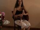 Nathalie BERNAT Cabrette Solo Cornemuse Auvergnate 'La Polka d'Olt'