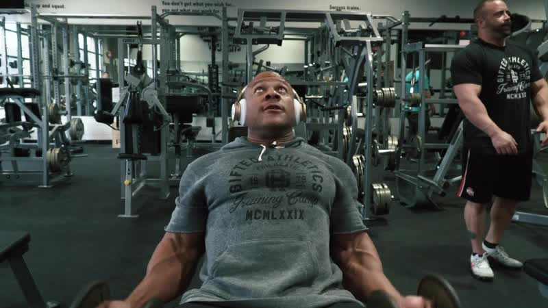 SEATED DB CURLS - SINGLE ARM TO DOUBLE Level 2