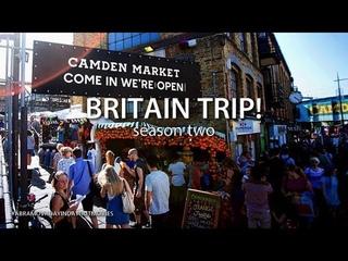 BRITAIN TRIP! - ЛОНДОН! Camden Town, Regent's Canal, Holland Park