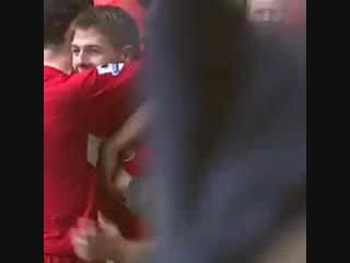 Did he ever strike a sweeter one?  @joebyram86 wanted to see this magnificent steven gerrard goal for #christmas - here you go j