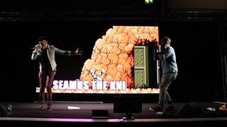 Retro Replay LIVE @MCM London Comic Con 2019 :Seamus The Knight