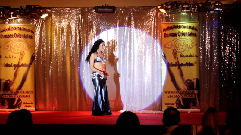 Iris Sukara- Aini ya Aini 2014 - Nassam Alayna el Hawa (Rosadela - Valencia, Spain - bellydance)