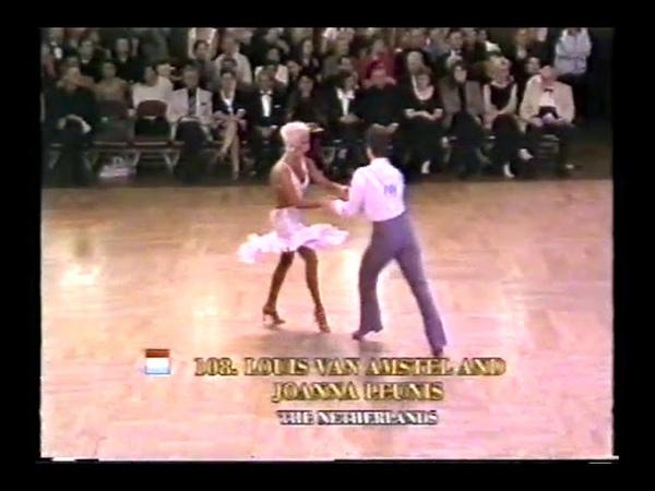 Allan Tornsberg Retirement - 2001 Blackpool Dance Festival Pro Int'l Latin American Competition