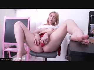 Lolly Small [Young Russian / Skirt, Solo, Ass, Pussy, Dildo and vibrator]