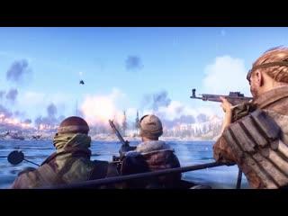 """Battlefield V - трейлер """"Огненного шторма"""" (королевская битва)"""