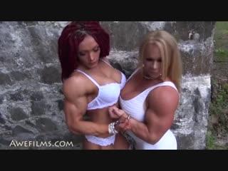 Aleesha young and natalya kovalyova-muscular fantasies part 2