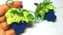 Виноград из помпонов , мк/Pompon Grapes/Uvas de pompones