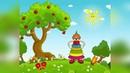 Учим цвета! Добрый РАЗВИВАЮЩИЙ мультик для малышей ОТ 1 до 3-Х лет