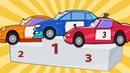 Развивающие Мультики про Машинки – Автовоз и Гоночные Машины – Обучающие Мультфильмы для Детей