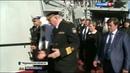 Вести в 20 00 Патриарх Кирилл посетил ракетный крейсер Петр Великий