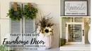 Thrift Store Farmhouse Makeovers|Trash to Treasure DIYs|Farmhouse DIY Decor