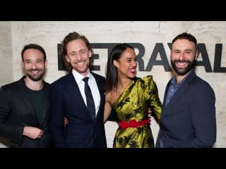 Tom Hiddleston and Zawe Ashton on 'All Of It With Alison Stewart' of WNYC