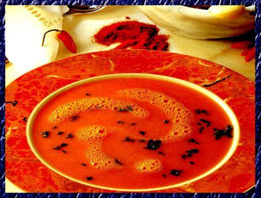 суп с хариссой