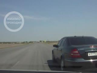 Обгони если сможешь. Трасса Курган-Челябинск. Курганская область