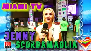 Jenny Scordamaglia Miami TV Peru Fest Jenny Scordamaglia video Miami TV video