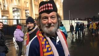 Россия - Шотландия. Атмосфера перед матчем
