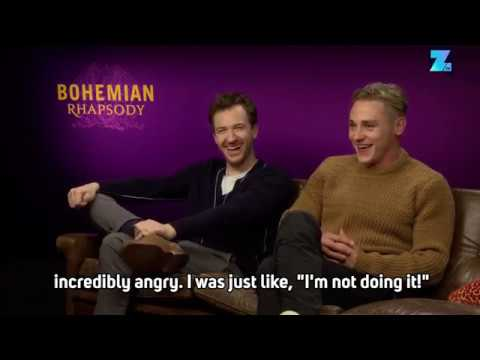 Ben Hardy retells Rami Malek's epic prank