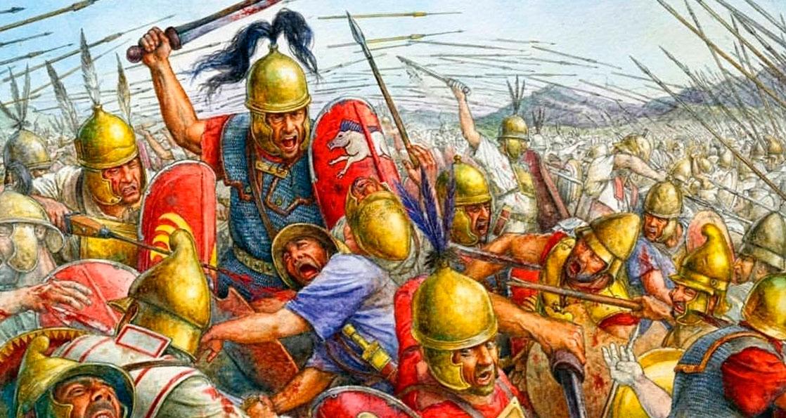 Римляне против македонян