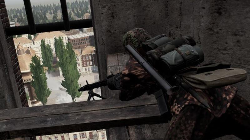 Post Scriptum Arnhem MG Commando Assault GER Comms ENG Subs