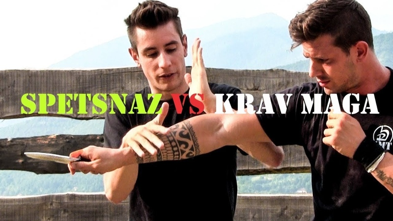 VADIM STAROV SPETSNAZ vs KRAV MAGA TRAINING Not a real knife attack