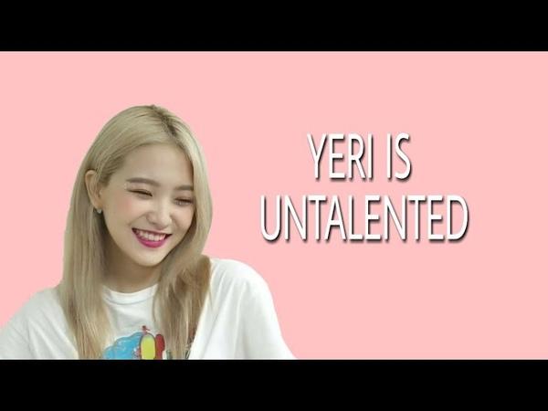 Yeri is untalented