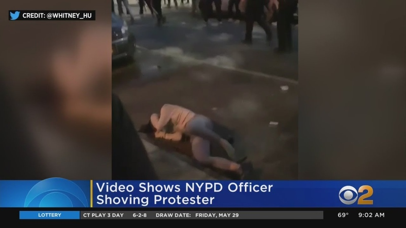 Elected Officials Say NYPD Officer Should Face Charges Over Shoving Incident Caught On Video