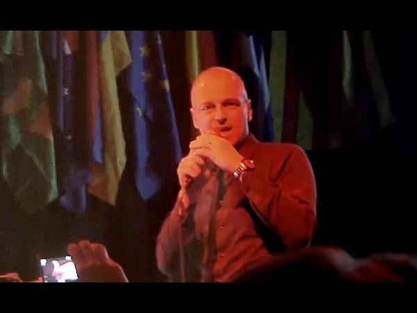 BRIAN ICE Talking to the night Live @ I Venti D'Azzurro Party MILANO 07 05 2016