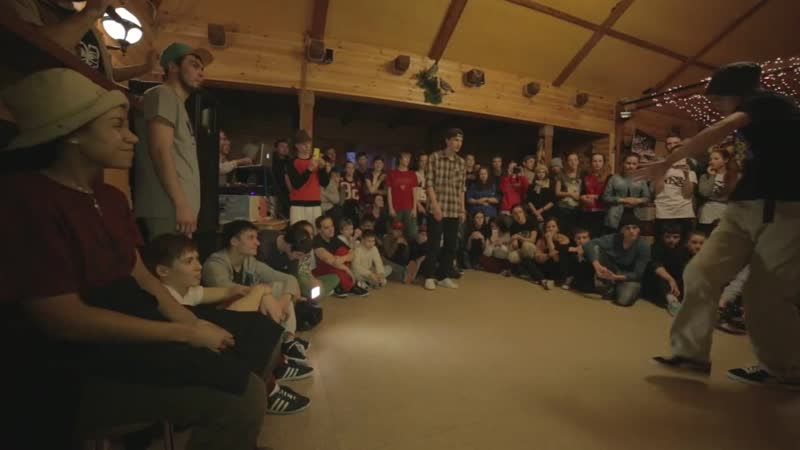 BATTLE ON THE HILL 3 Hip-Hop 1-8 Волчара vs Лавр, 5.12.14г