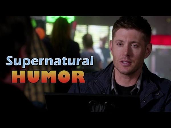 [Supernatural HUMOR] Dean Winchester - Im a joy to be around